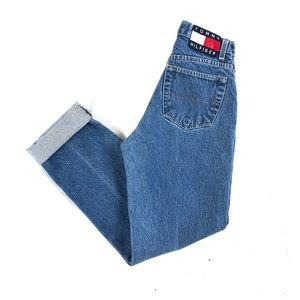 Vintage Tommy Hilfiger high waisted mom jeans sz 4